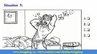 Test TCF Compréhension orale Niveau 1, Partie 3