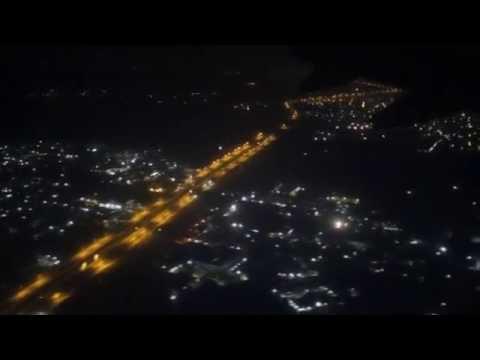 Qatar Airways QR 528 Landing at Chennai International Airport
