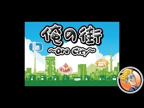 Ore City — game overview at SPIEL 2016 by Japon Brand