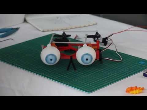 3D Printed Eye Mech Tutorial
