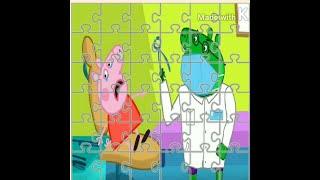 5) СВИНКА ПЕППА СОБИРАЕМ  ПАЗЛЫ  ДЛЯ  ДЕТЕЙ  PEPPA  PIG  PUZZLES  FOR  KIDS