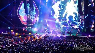 COLDPLAY 첫 내한공연 Hymn for the Weekend & Fix You & Viva la Vida & Adventure of a Lifetime 20170415
