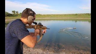 Guns VS. RC Boats