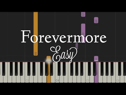 Forevermore - Side A | Easy Piano Tutorial