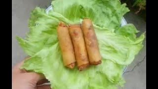 How To Make Vietnamese Egg Rolls - Cách Làm Chả Giò