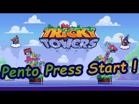 Pento Press Start : Tricky Towers
