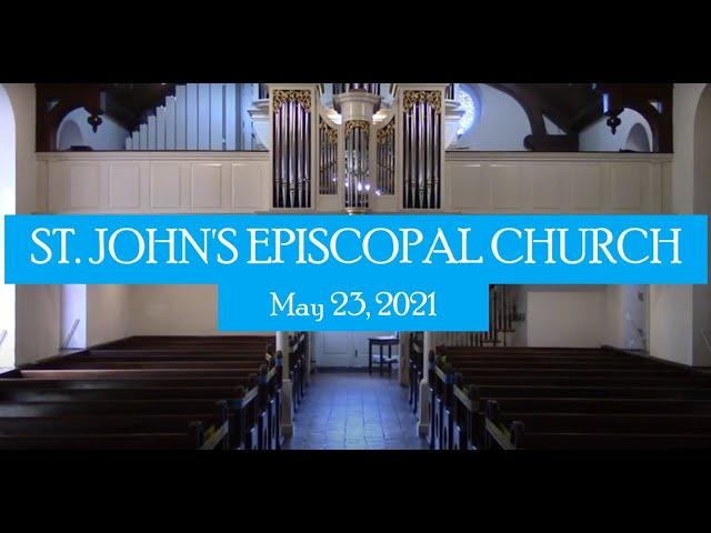 St. John's service May 23, 2021
