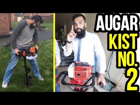 Big Augar Machine For TREE Planting | Azad Chaiwala Show