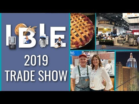 The Largest Bakery Trade Show In The U.S. (IBIE 2019 in Las Vegas)