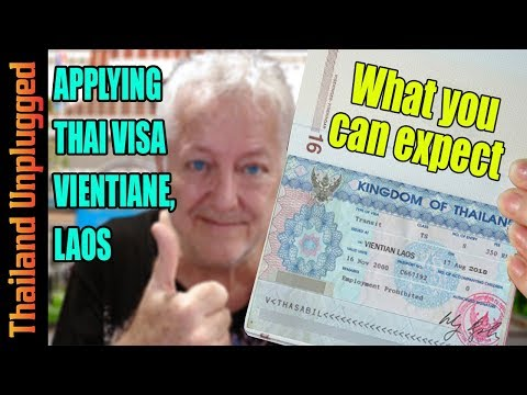 Thai Visa in Vientiane, Laos What you can expect