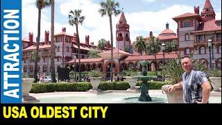 The oldest city St. Augustine Flagler College Villa Zorayda Casa Monica Resort by Jarek Florida USA
