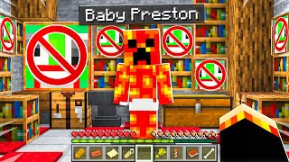 7 Secrets about Baby Preston! - Minecraft