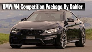 F82 BMW M4 Competition Package From German Tuning House Dahler