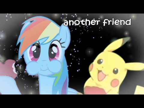 Rainbow Dash X Pikachu Crossover