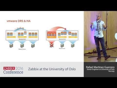 Rafael Martinez Guerrero - Zabbix at the University of Oslo | Zabbix Conference 2016
