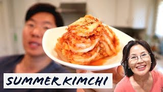 A Summer Kimchi Recipe.