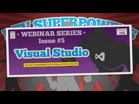 Project Management with Visual Studio Online | Dev Superpowers Episode #5 | Damian Brady