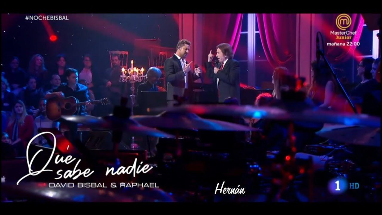 David Bisbal, Raphael - Qué Sabe Nadie | Siempre Contigo - Especial Navidad 2019
