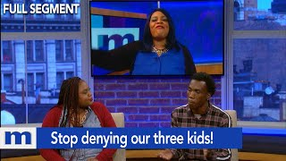 I didn't cheat...Stop denying our three kids!   The Maury Show