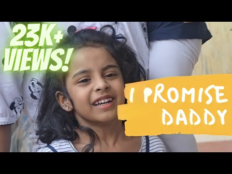 I promise daddy that I will not have a bf #dad #daughter #shorts