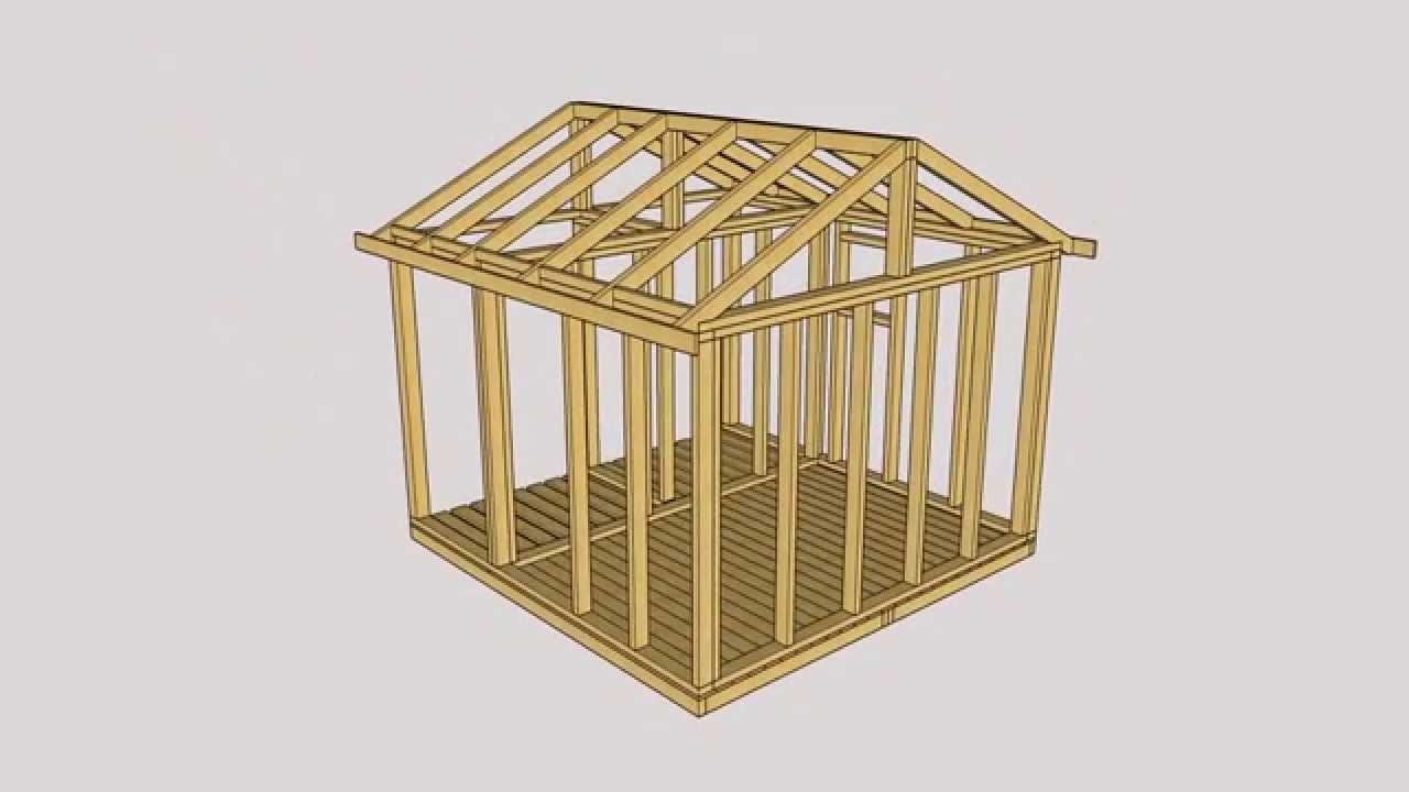 Chwalebne domek narzędziowy z drewutnią 3 na 3 m - YouTube RS77