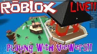 Subs Choice Sundays | Roblox | LIVE Stream #1 | Playing WITH Viewers! Join US!!!