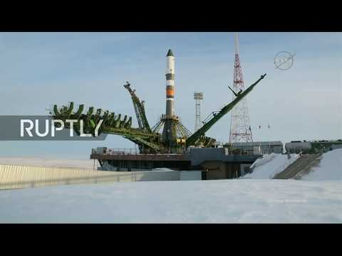 LIVE: Soyuz rocket launches cargo ship to ISS from Baikonur in record time