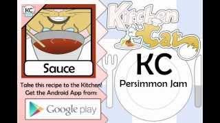 Persimmon Jam - Kitchen Cat