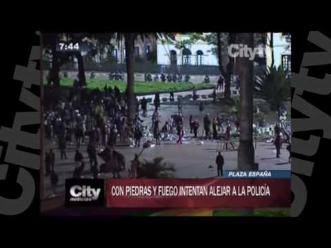 Habitantes de calle se enfrentan con la Policía |City TV