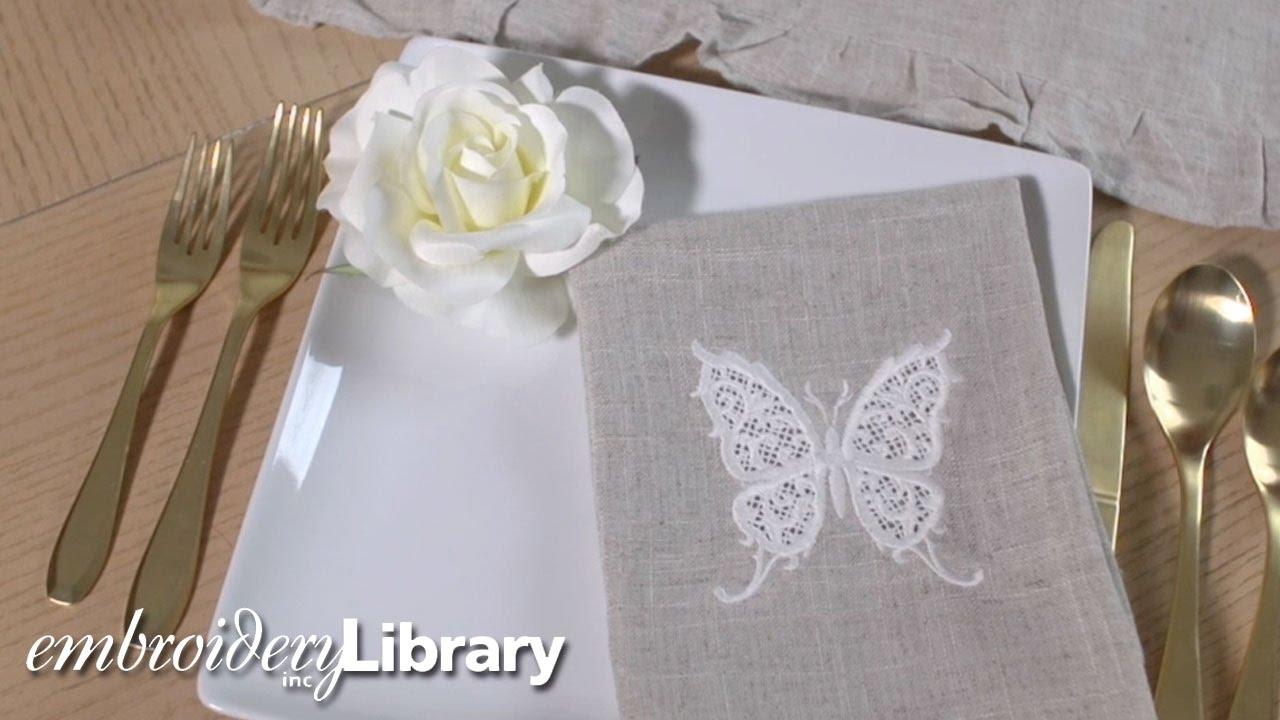 Cutwork Embroidery Youtube