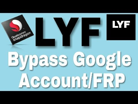 Bypass Google Account/FRP LYF Flame 8 LS-4505 | Marshmallow 6 0 1