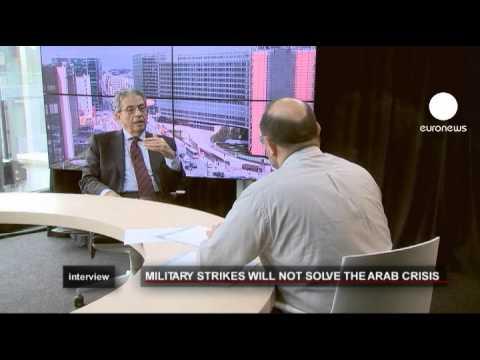 euronews interview - Présidentielle égyptienne et crise lybienne, Amr...