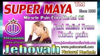 SHOULDER PAIN OIL - SUPER MAYA HERBAL MEDICINES - JEHOVAH NATURAL HERBALS