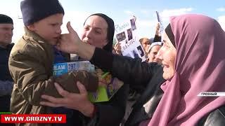 В Грозном прибыл самолет с пятью спасенными из Ирака детьми