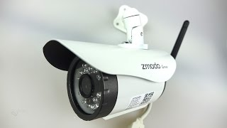 simple cheap effective outdoor wifi night vision ip camera