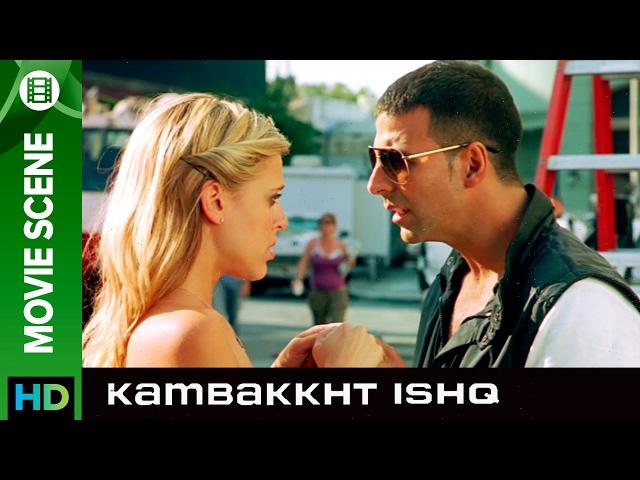 Akshay the casanova | Kambakkht Ishq | Movie Scene