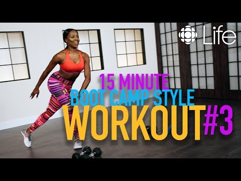 15 Minute Boot Camp Style Workout pt. 3 | Fit Class | CBC Life