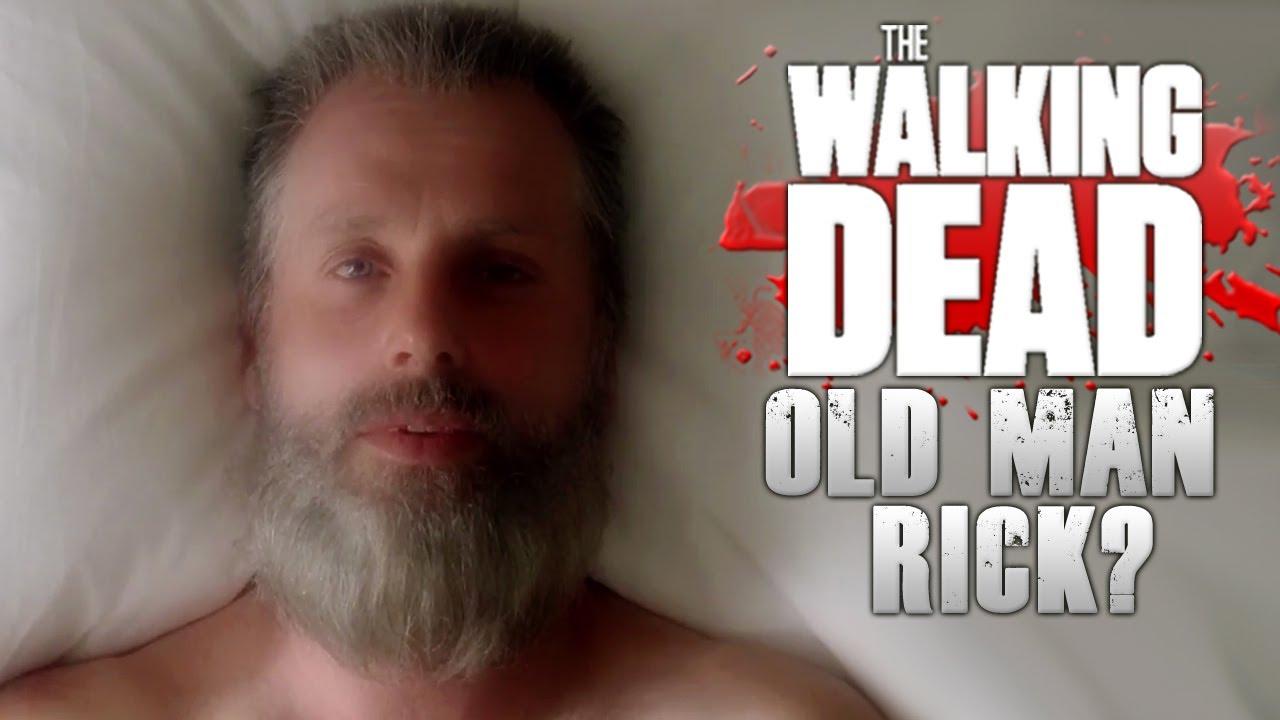 the walking dead season 8 trailer old man rick explained youtube. Black Bedroom Furniture Sets. Home Design Ideas