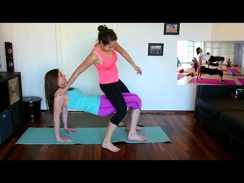 Yoga Challenge 2 Girls Youtube