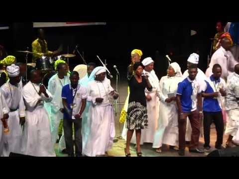 Tope Alabi Live at Unilag Main Auditorium