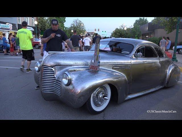 1940 Buick Super Coupe Morris Car Show - 4K