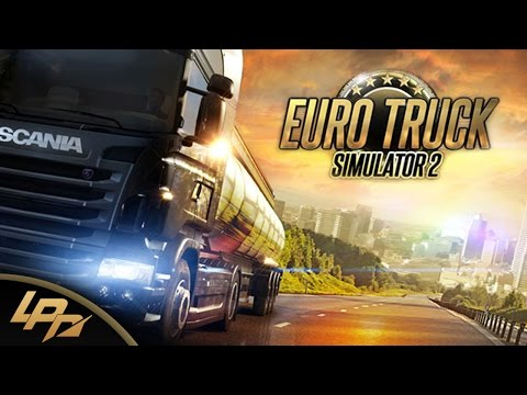 EURO TRUCK SIMULATOR 2 Part 1 (FullHD) - Back on the Road!! / Lets Play Euro Truck Simulator 2