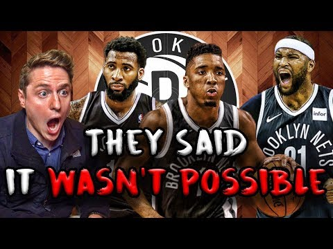 The NBA's MOST IMPOSSIBLE Challenge! Rebuilding the Nets   NBA 2K19