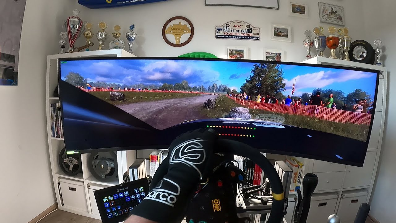CRAZY SPEED #5 DIRT Rally 2.0 - Audi S1 WRX - Germany - High End Full Motion Simracing Simulator