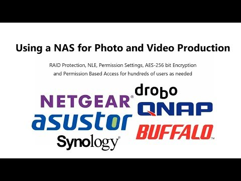 Guide to NAS for Photo and Video Editors and Post Production