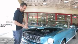 1966 Ford Mustang GT convertible for sale with test drive, driving sounds, and walk through video