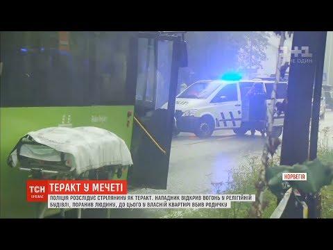 Поліція Норвегії розслідує стрілянину в мечеті біля Осло як теракт
