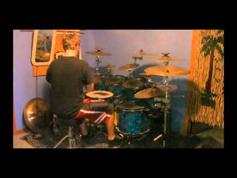 As Blood Runs Black Beneath the Surface Drum Cover