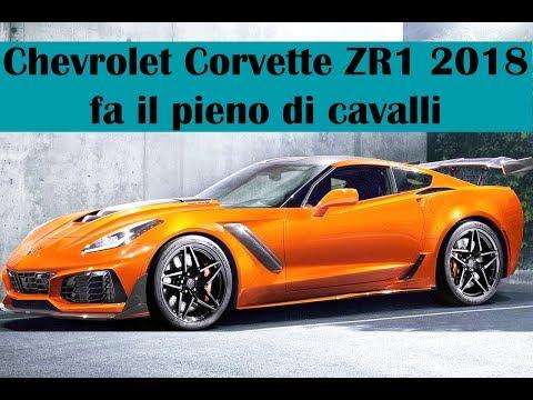 Chevrolet Corvette ZR1 2018: fa il pieno di cavalli, 765 CV di potenza