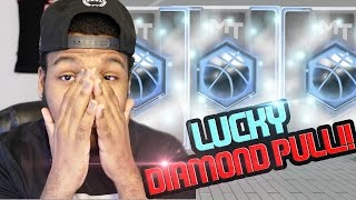 nba 2k17 myteam pack opening lucky diamond topper pull massive campus legends boxes